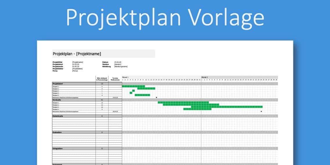 Projektmanagement Vorlagen Checklisten Und 4