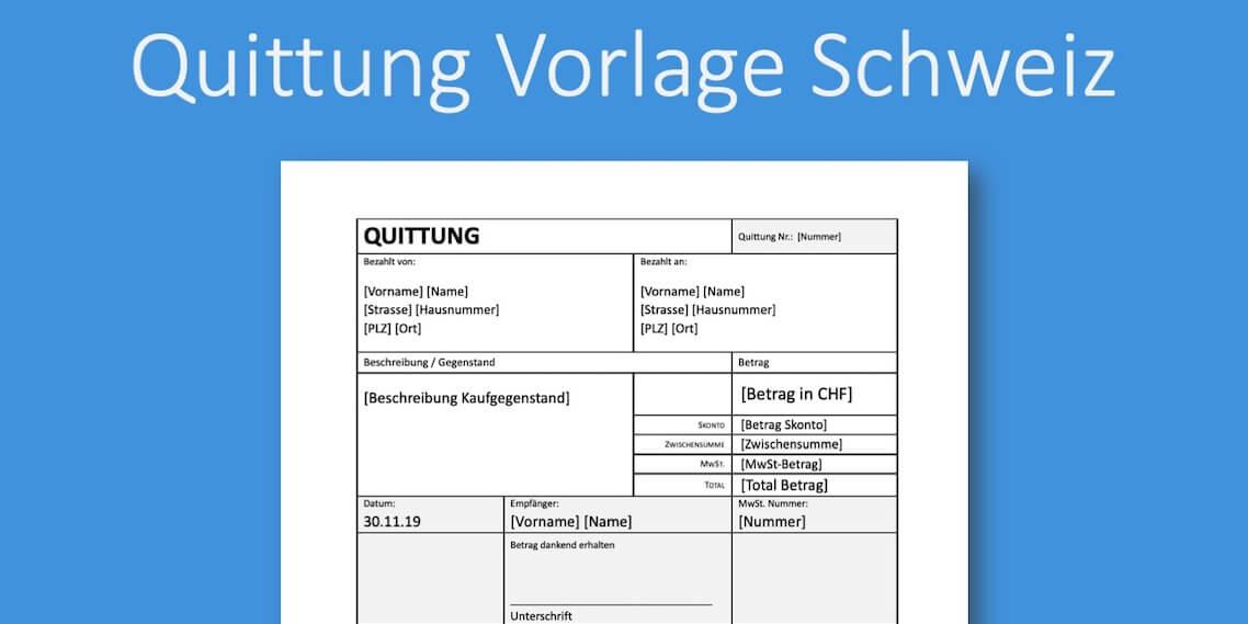 Quittung Vorlage Schweiz Gratis Download Pebe Smart 6