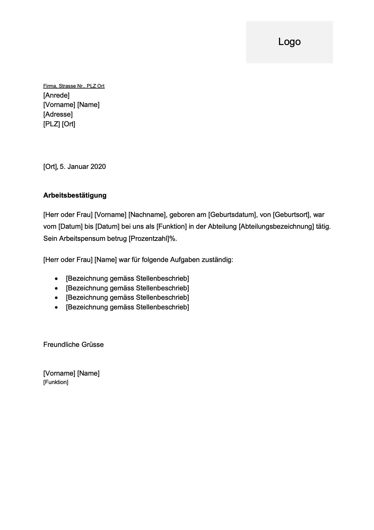 Arbeitsnachweis Muster Arbeitszeitnachweis