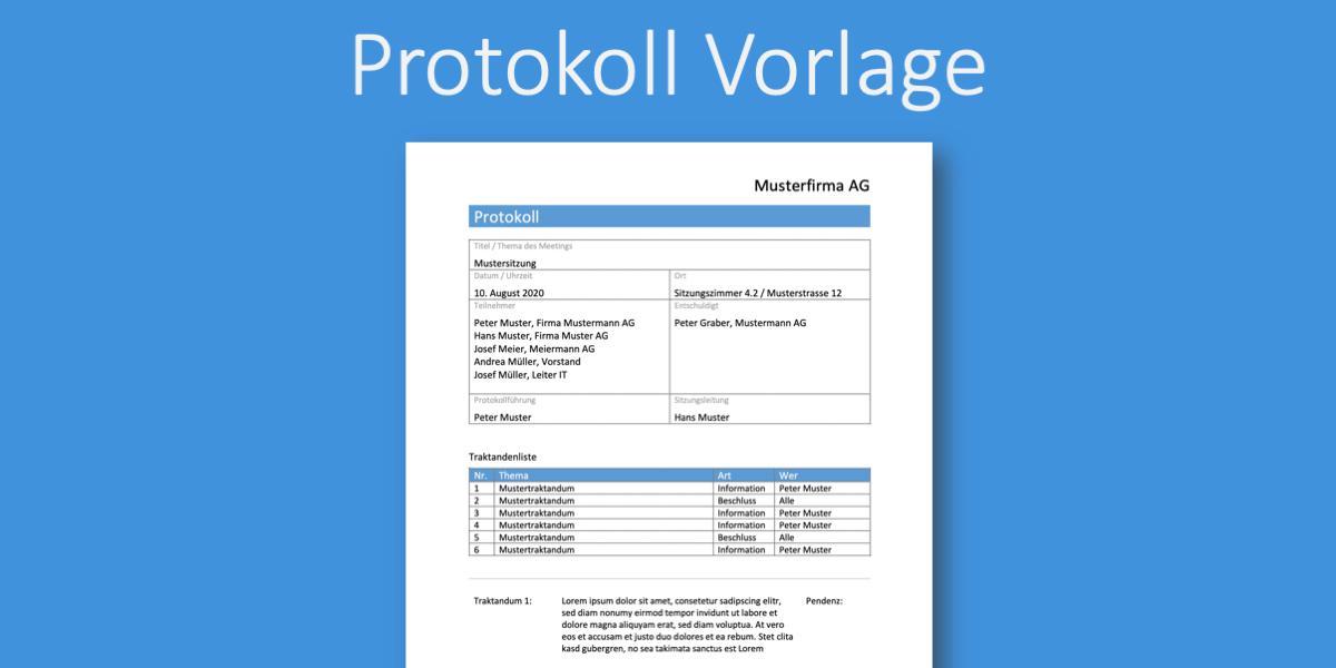 Protokoll Vorlage Ergebnisprotokoll Gratis Word Vorlage Vorla Ch