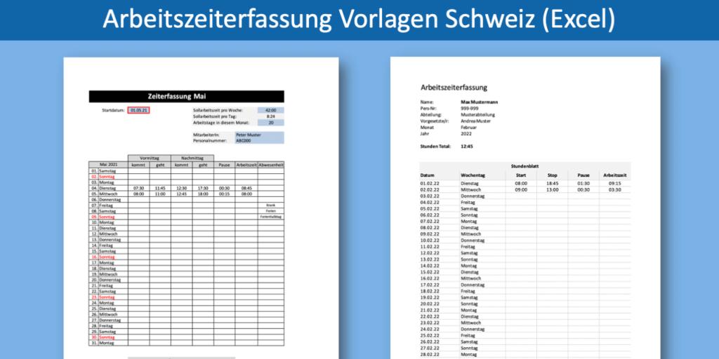 Zeiterfassung Excel Heise Download