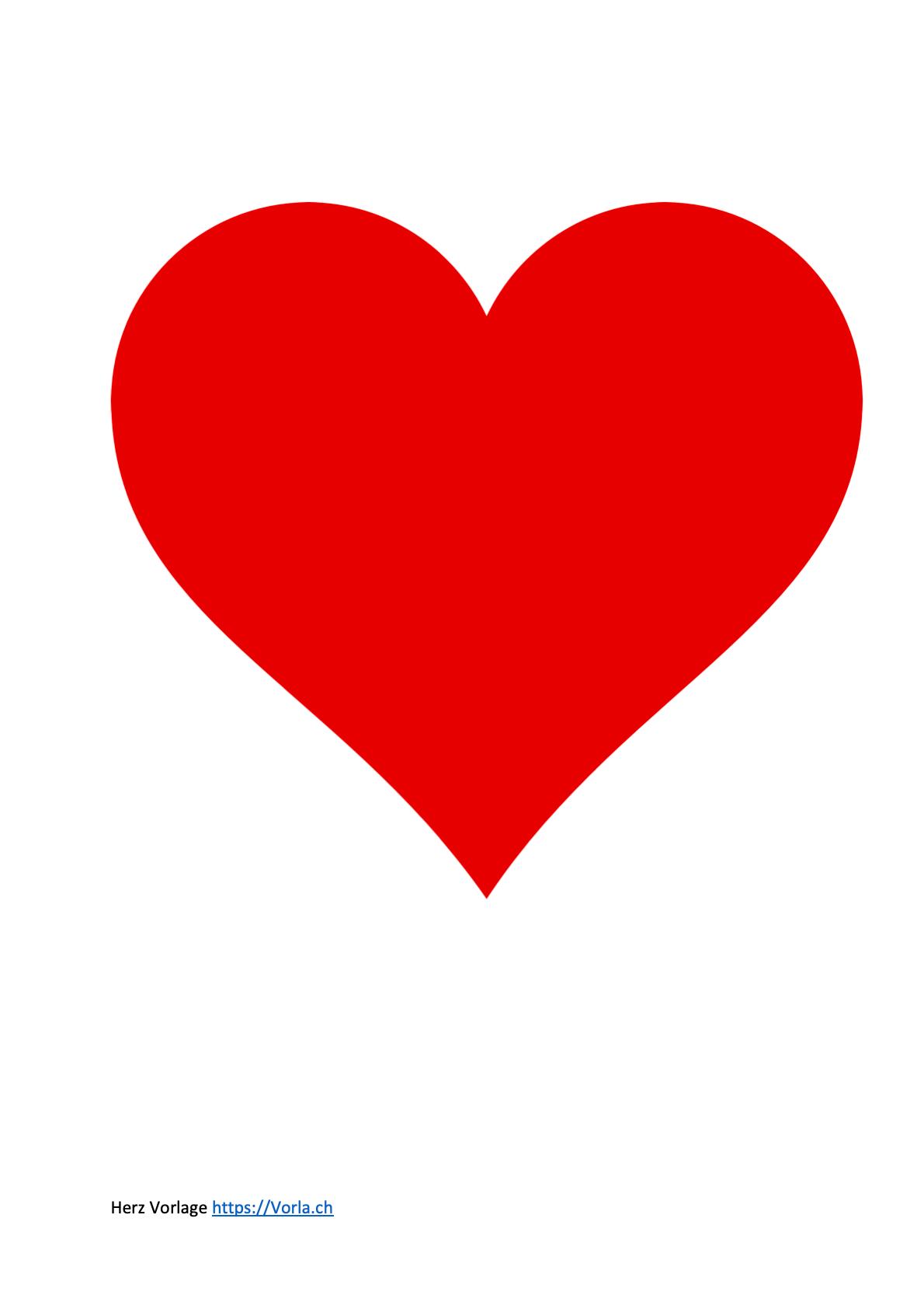 Luxurios Herz Ausdrucken New Herz Vorlage 12